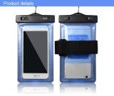 Sac imperméable à l'eau de cas de téléphone mobile de mode neuve 5.5 pouces