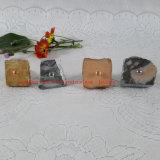 De donkere Grijze Knoppen van /Cabinet van de Knoppen van de Knop/van de Lade van het Meubilair van de Steen