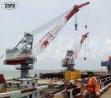 Плавучий кран 30 тонн прочный для сбывания