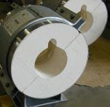Aislamiento del tubo y de los escudos del silicato del calcio 1000c ASTM-C533