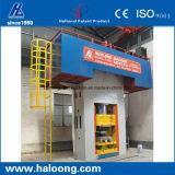 Máquina automática poderosa da imprensa de tijolo refratário