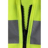 Maglia d'avvertimento dell'operaio di costruzione di alta obbligazione Emergency su ordinazione di visibilità