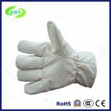Anti luvas resistentes de alta temperatura de estática