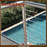 304# de Balustrade van het Roestvrij staal SUS voor de Omheining van het Zwembad (sj-X1040)