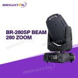 OEM Proveedor Luces móviles Iluminación de la hospitalidad haz puntual Wash 280W