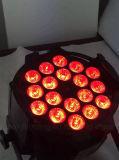 18 IGUALDAD del PCS RGBWA 5in1 LED para la luz de teñido del efecto de la etapa (HL-029A)