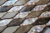 Azulejo nacarado de la pared del mosaico del mármol de la mezcla del nuevo diseño 2017
