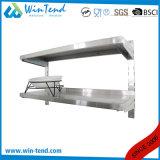 Hangende Plank van de Keuken van het Roestvrij staal van Manufactory de Commerciële Verwijderbaar voor het Schoonmaken