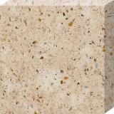 Laje de cristal artificial projetada material da pedra de quartzo da bancada para a mesa da cozinha