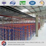 Entrepôt préfabriqué de structure métallique en Ethiopie