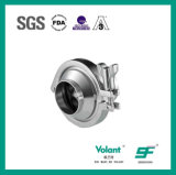 Válvula de verificación soldada estruendo del acero inoxidable 304 316L Stanitary Sfx044