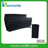 Media de filtro del rodillo del carbón