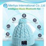 Écouteur chaud de chapeau de musique de Bluetooth de Beanie de chapeau mains libres sans fil de musique