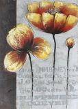 In het groot Modern Met de hand gemaakt Olieverfschilderij