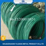 Alambre revestido del hierro del PVC de la mejor calidad para la cerca de la conexión de cadena
