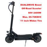 Dualdrive Dualtron ultra Bewegungselektrischer Roller-leistungsfähiger Erwachsener weg von der Straße