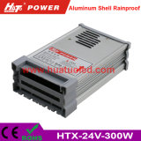 bloc d'alimentation de 24V12.5A DEL/lampe/bande flexible IP65 antipluie