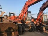 Excavador usado de la rueda de Hitachi Ex160wd