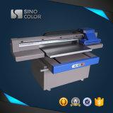Impresora de cristal plana ULTRAVIOLETA para la impresión rígida de los materiales