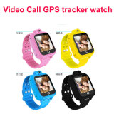 Drehender Aufruf GPS-Kind-Uhr-Verfolger der Kamera-3G androider video