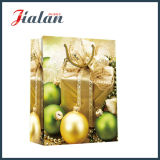 Zoll-4c gedruckter Weihnachtsbell-Geschenk-Verpackungs-kaufender Papierbeutel