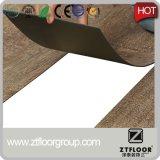 Suelo de interior del vinilo del PVC de la textura de madera para la decoración casera