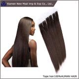 Forma do cabelo humano nenhum cabelo da fita dos piolhos