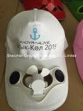 스포츠 일요일 모자 태양 강화된 냉각팬 모자