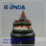185 cabo elétrico de cobre interno e ao ar livre de Sqmm 12kv