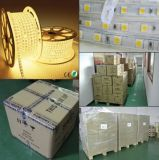 PCB8mm 유연한 IP65 SMD5050 백색 또는 Warrm 백색 LED Striplighting