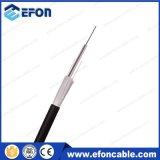 Волокна пряжи куртки PE кабель стеклянного Armored оптически (GYFXY-2)