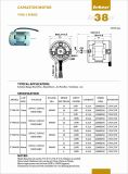 motore caldo del ventilatore da tavolo del condensatore del vento di CA 1000-3000rpm per il ventilatore
