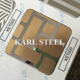 410 Steel inoxidable Etched Sheet pour Decoration Materials