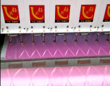 Yuxingは靴、袋、衣服のための刺繍機械をキルトにする33のヘッドをコンピュータ化した