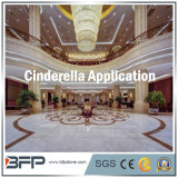 Grer Color Cinderella 10mm Thick Marble Tile for Flooring, Panneau mural