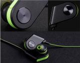 Беспроволочный наушник шлемофона спортов лапшей Bluetooth 4.0 наушников
