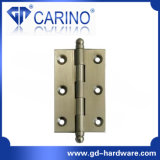 Dobradiça de bronze de bronze barata segura das dobradiças de porta (HY891)