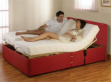 Кровать мебели гостиницы беспроволочная электрическая регулируемая