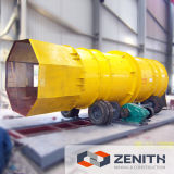 Zénite Trommel Sieve Machine com Large Capacity