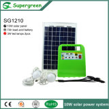 移動式充電器またはラジオが付いているホームシステムの携帯用太陽発電機