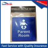 Signe de braille de braille de modification de bébé