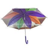 PlastikTransparent Poe Umbrella mit Fashion Ahornblatt Design