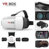 Шлемофон Vr стекел коробки 3D Vr шлемофона фактически реальности на iPhone 6 положительных величин для стекел +Controller Vrbox 3D примечания 4 Samsung видео-