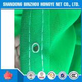 Rede de segurança feita malha da construção do andaime HDPE verde com franco UV