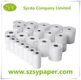 Papel termal del papel de copia de la alta calidad 80m m