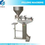 Máquina de rellenar del acero inoxidable del agua mineral de la pequeña escala (FSL-1)