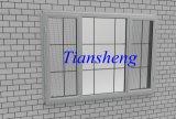Fenêtre à manivelle en aluminium de style américain