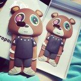 Nueva caja linda del silicón del oso de la salida 3D para iPhone6