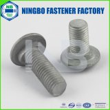 NbまたはYHC特別ボルトのマーキングANSI / ASTM / ASMEのDINガードボルトホットディップ亜鉛メッキグレード/クラス2〜10.9(ウォッシャーFACEなし)全スレッドまたはハーフスレッドヘッド