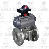 2PC Pneumatic Flanged Ball Valve (PQ41F-150Lb)